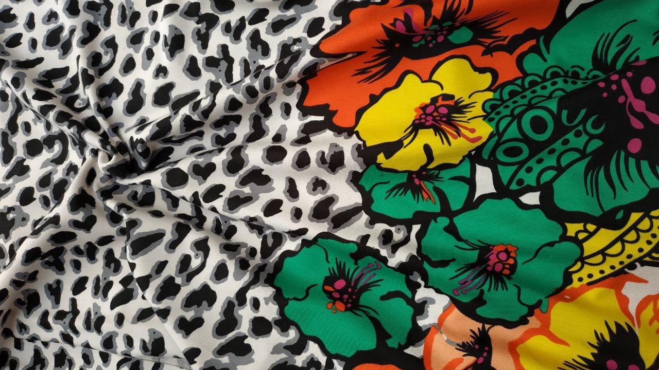 Ткань трикотаж принт купить оптом Palmira Textile Group Украина