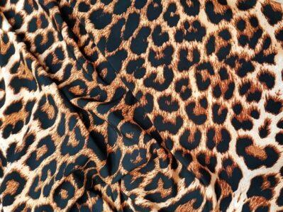 Ткань суперсофт леопард купить оптом в Украине недорого